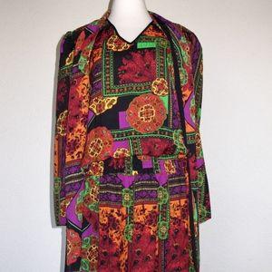 Diane Freis NOS Beaded Dress Bold fits 4 6 8 10